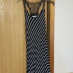 Women's long maxi/high low dress